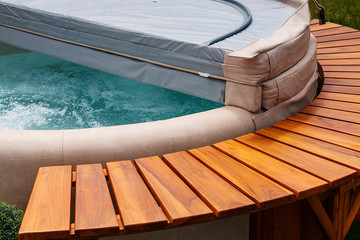 Aqua spa hot tub cover