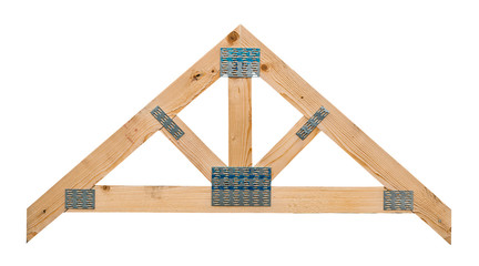 roof truss isolated