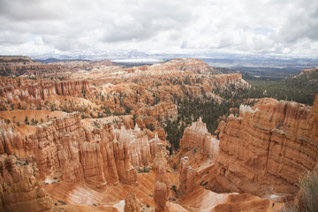 2015-12-05 Snow storm over Bryce Canyon, Utah 1