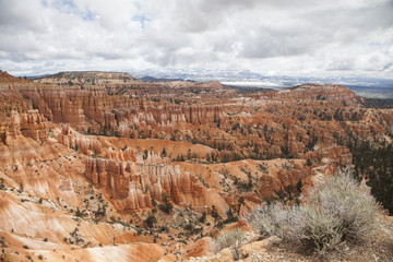 2015-12-05 Snow storm over Bryce Canyon, Utah