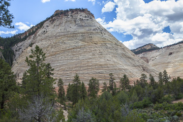 2015-12-05 Zion Canyon, Checkerboard Mesa