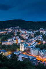 World-famous for its mineral springs, the town of Karlovy Vary