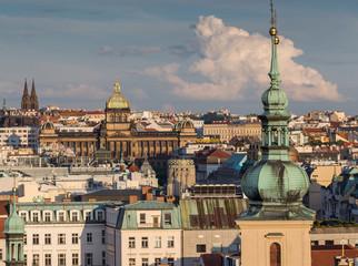 15 June 2014  : PRAGUE IN CZECH  ,View from  Prague astronomical