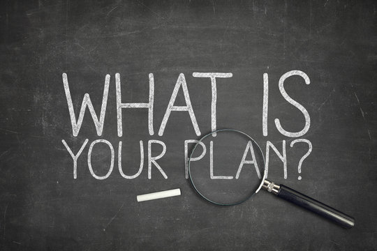 What is your plan concept on blackboard