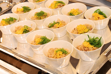 ブライダルイメージ,ご披露宴にて食される料理