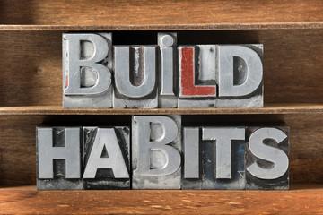 build habits tray
