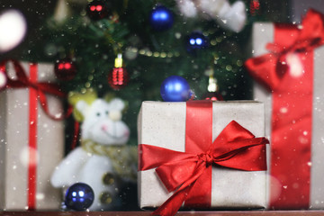 presents under the tree Christmas