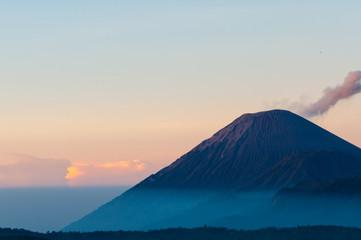 Smoking Mountain of Volcano Bromo