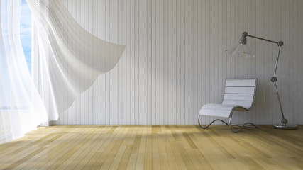 3ds interior seaside room