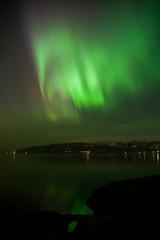 Starke Nordlichter in Norwegen im März 2015