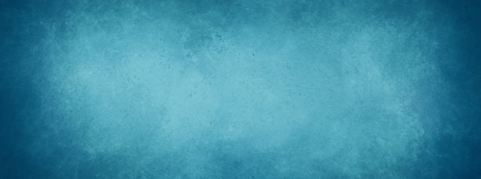 blue background, vintage marbled textured border