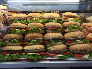 esposizione di panini