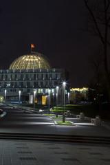 The museum of the Great Patriotic War, Minsk. evening illuminati