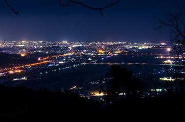 林道からの夜景