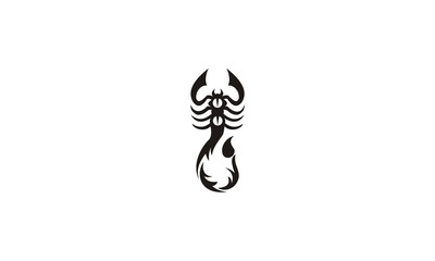 tribal scorpion king design