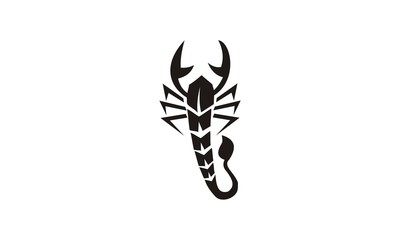 tribal tatto scorpion design