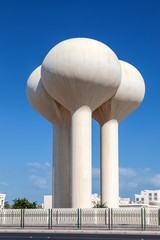 Water tower in Bahrain