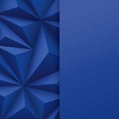Blue abstract background vector.