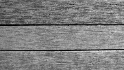 Black and white vintage old wood background texture