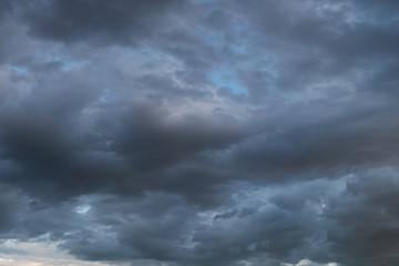 heavy rain storm clouds, thunderstorm dramatic sky