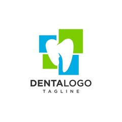 Dental logo vector template