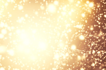 Abstract background with glitter bokeh lights. Image is blurred