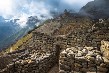 Machu Picchu, UNESCO World Heritage Site. One of the New Seven Wonders of the world