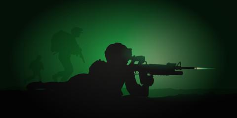 SOLDAT Combat nocturne