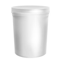 Plastic Container For Dessert.