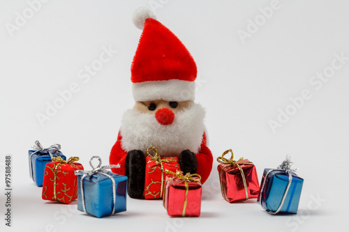 Nikolaus Platziert Geschenke Stock Photo And Royalty Free Images On