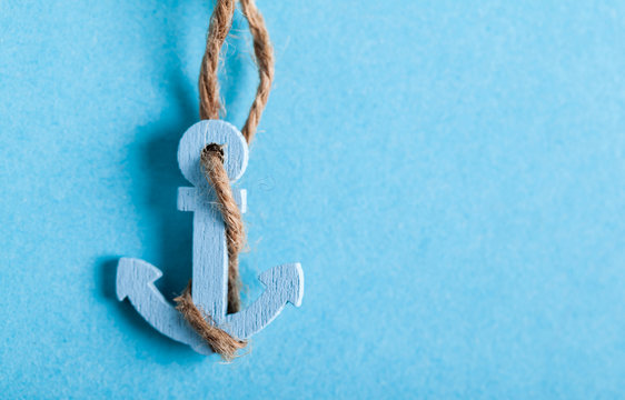 the small anchor close-up