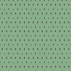 Sfondo verde con abeti