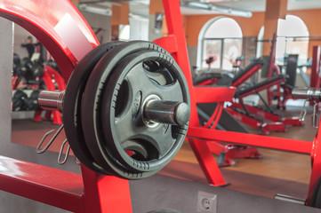 different gym equipment