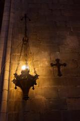 Интерьер. Кафедральный собор. Жирона. Каталония, Испания.