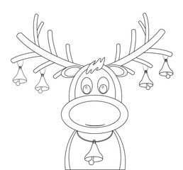 Reindeer Bells Drawing