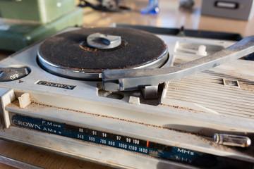 Nostalgischer Plattenspieler