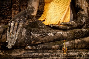 Ancient Buddha, Ayutthaya, Thailand