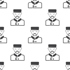 cook icon on white background