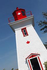 Entrance of a lighthouse, Seaport Lighthouse Museum, Prince Edward Island, Canada