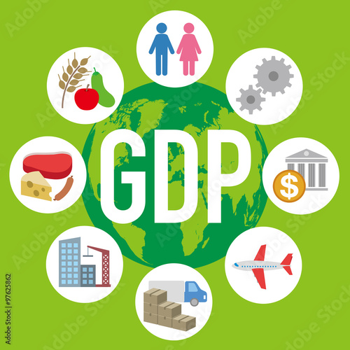Gross Domestic Product  >> Gross Domestic Product Gdp And Various Industry And Service