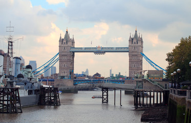 Old London drawbridge