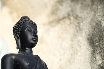 buddha image with grunge background