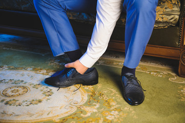 Groom's Leather Shoes