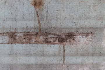 Wall Mural - Closeup of the old and weathered cement wall