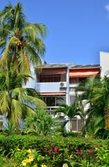Martinique, picturesque village of Les trois Ilets