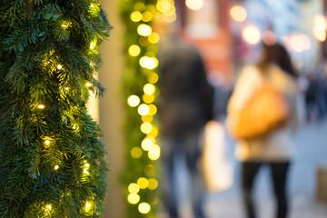 Weihnachten in der Fussgängerzone