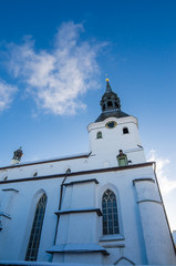 The building of the Dome Church in Tallinn Old Town