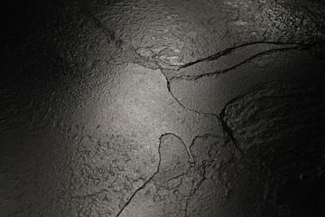 Black stone texture background.