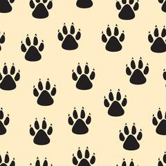 footprints seamless background
