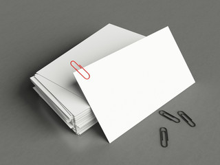Business card template for branding. For graphic presentations